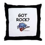 SLYDER ROCKS Throw Pillow
