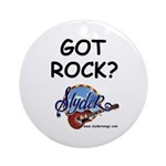 SLYDER ROCKS Ornament (Round)