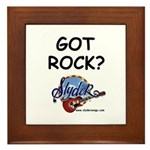 SLYDER ROCKS Framed Tile