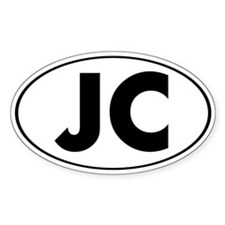 JC Oval Oval Decal