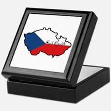 Cool Czech Republic Keepsake Box