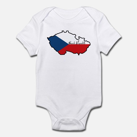 Cool Czech Republic Infant Bodysuit