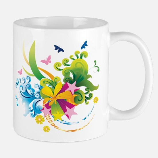 Summer Flower Power Mug