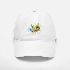 Summer Flower Power Baseball Baseball Cap