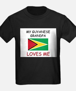 My Guyanese Grandpa Loves Me T-Shirt