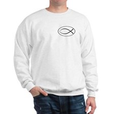 Christian Fish Oval Jumper