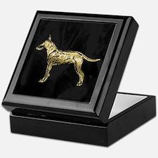 Standard Manchester Terrier Keepsake Box