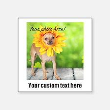 Custom Photo And Text Sticker