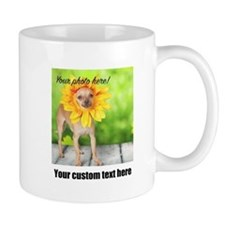 Custom Photo And Text Mugs