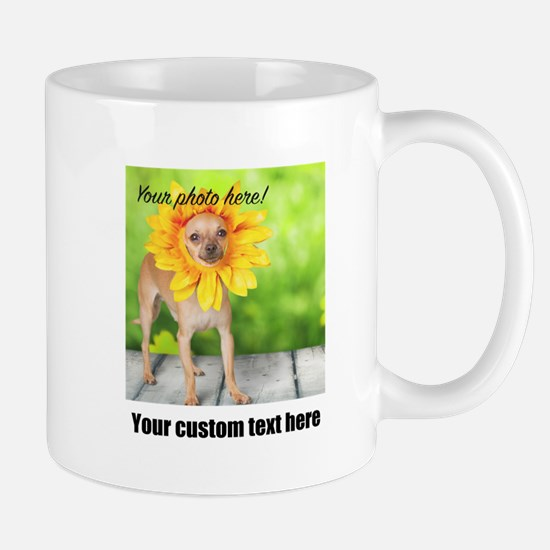 Custom Photo And Text Mugs