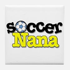 Soccer Nana Tile Coaster