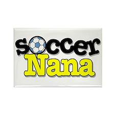 Soccer Nana Rectangle Magnet