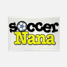 Soccer Nana Rectangle Magnet