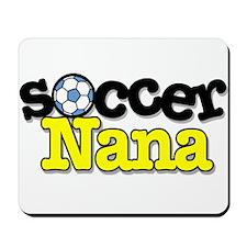 Soccer Nana Mousepad