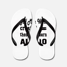 Some Learn Aikido Flip Flops