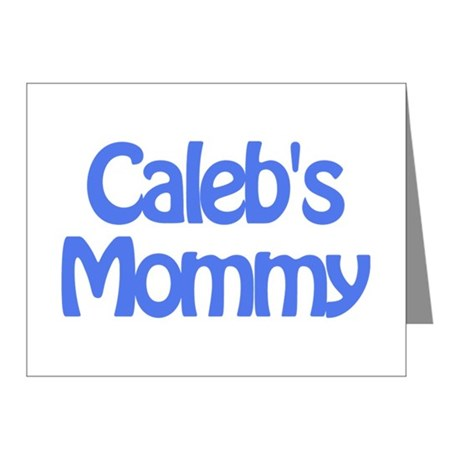 Caleb's Mommy Note Cards (Pk of 10)