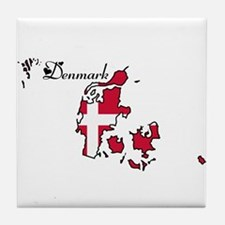 Cool Denmark Tile Coaster