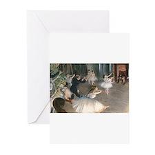 Bag Degas Onstage Greeting Cards