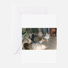 Bag Degas Onstage Greeting Cards