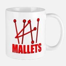 Red Mallets Mugs