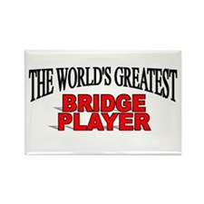 """The World's Greatest Bridge Player"" Rectangle Mag"