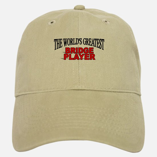 """The World's Greatest Bridge Player"" Baseball Baseball Cap"