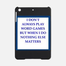 word games joke iPad Mini Case