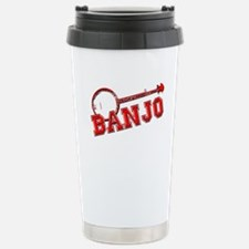 Red Banjo Travel Mug