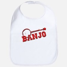 Red Banjo Bib