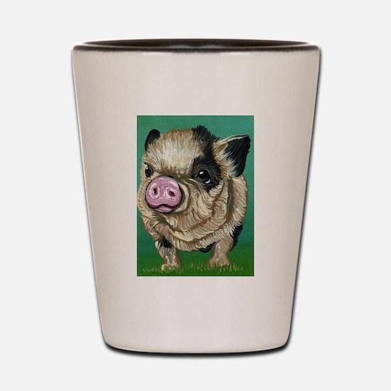 Micro Pig Shot Glass