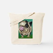 Micro Pig Tote Bag