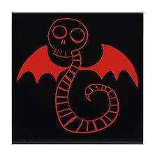 Skeleton Snake Tile Coaster