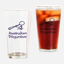 Australian Didgeridoo Drinking Glass