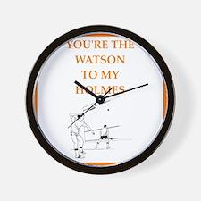 racquetball joke Wall Clock