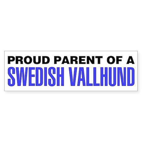 Proud Parent of a Swedish Vallhund Sticker
