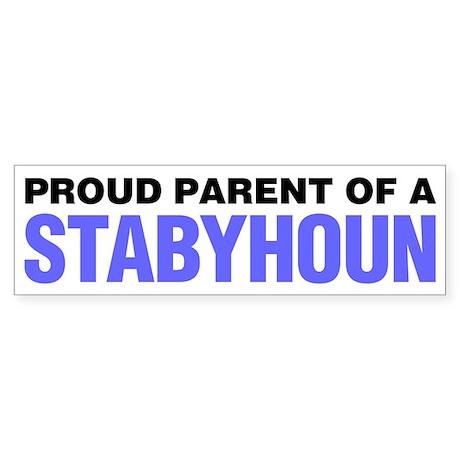 Proud Parent of a Stabyhoun Sticker