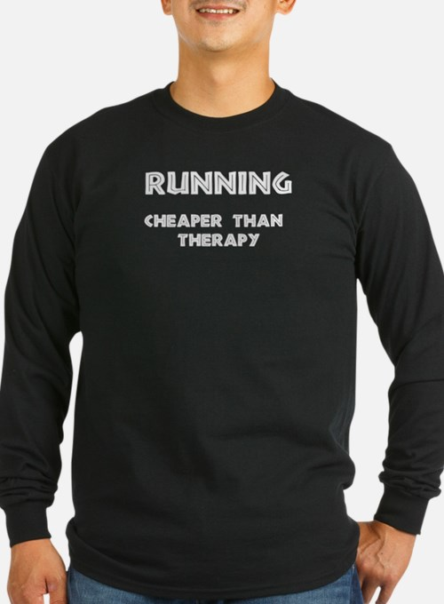 Running: Cheaper than therapy T