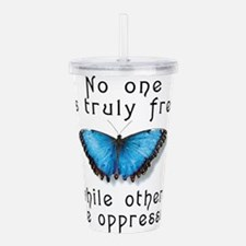 noonefree.png Acrylic Double-wall Tumbler