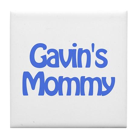 Gavin's Mommy Tile Coaster