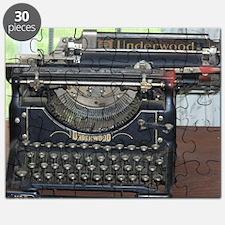 Cute Vintage typewriter Puzzle