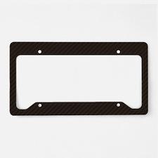 Carbon License Plate Holder