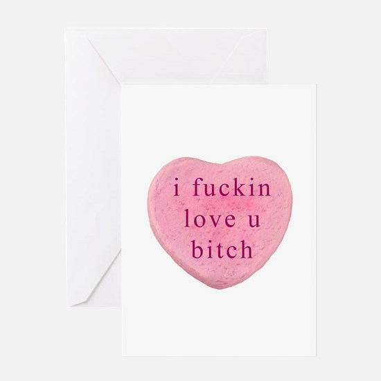 Unique Funny valentines Greeting Card
