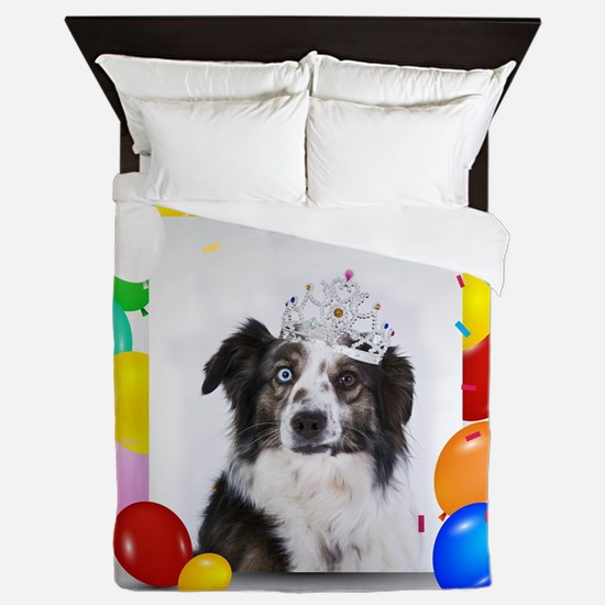 Funny Womens birthday Queen Duvet