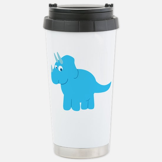 Cute Triceratops Dinosa Stainless Steel Travel Mug