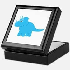 Cute Triceratops Dinosaur Keepsake Box