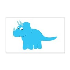 Cute Triceratops Dinosaur Wall Decal
