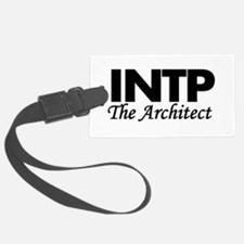 INTP | The Architect Luggage Tag