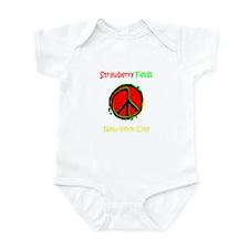 """STRAWBERRY FILEDS NYC"" Infant Bodysuit"
