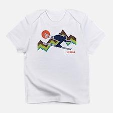 Cute Ski hill Infant T-Shirt