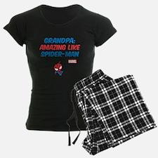 Amazing Spider-Man Grandpa Pajamas